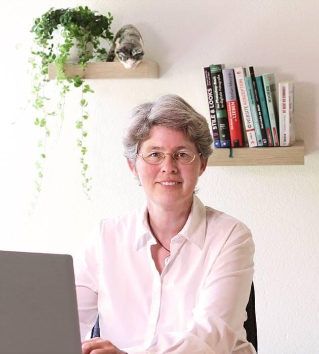 Website-Mentorin Claudia Barfuss