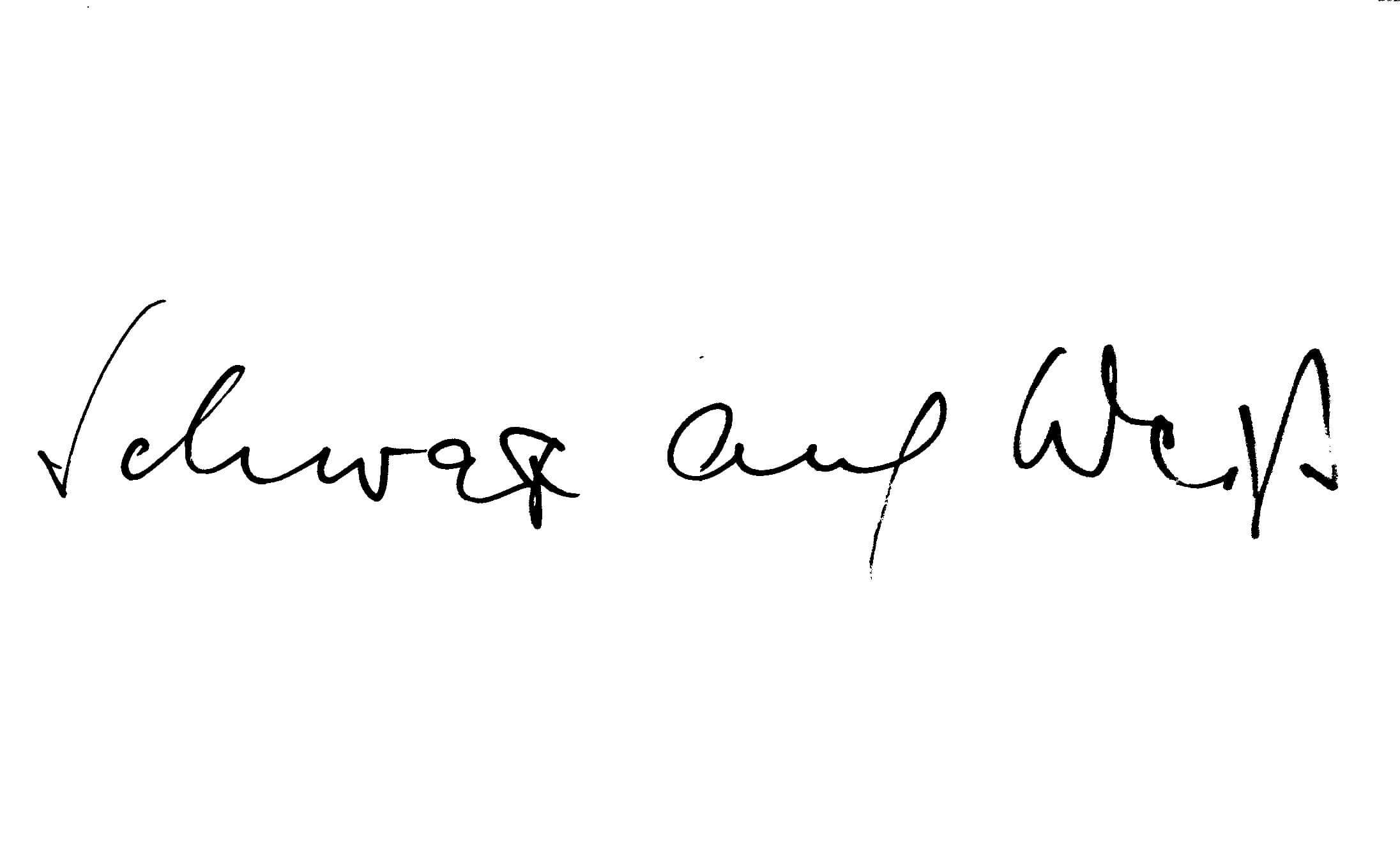 Logo Schwarz auf Weiß Blog