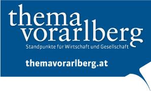 Logo der Monatszeitung Thema Vorarlberg