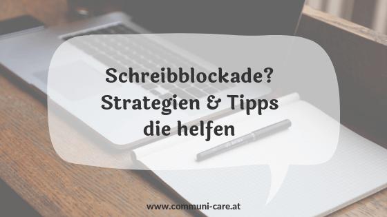 Erfahrungen, Strategien und Tipps, die bei Schreibblockaden helfen