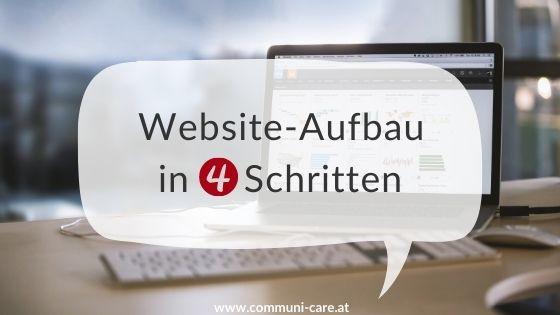 Website Aufbau in 4 Schritten