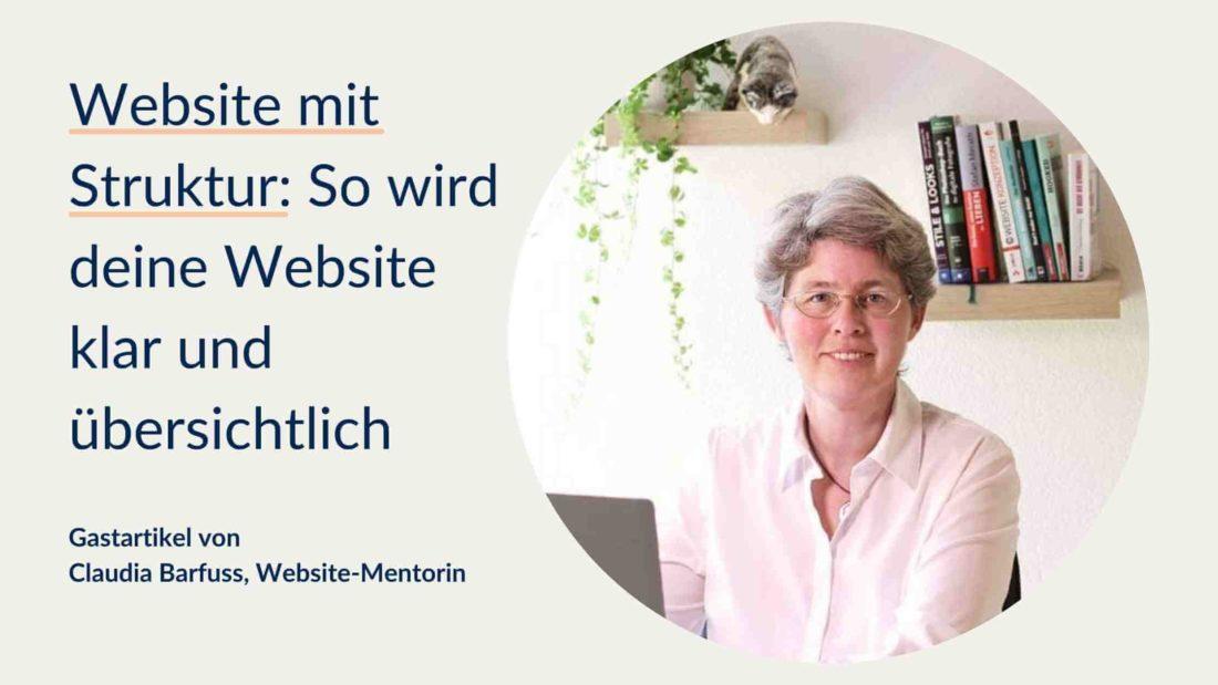 Website mit Struktur: So wird deine Website klar und übersichtlich