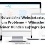 Websitetexte kundenorientiert schreiben