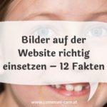 12 Fakten, wie du Bilder auf der Website richtig einsetzt